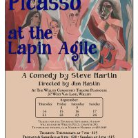 """Comic Steve Martin's Play """"Picasso at the Lapin Agile"""""""