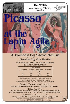 "Comic Steve Martin's Play ""Picasso at the Lapin Agile"""