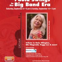 "Ukiah Symphony ""Paula Swings to the Big Band Era"""