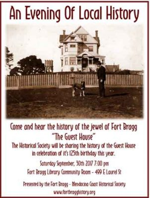 An Evening of Local History