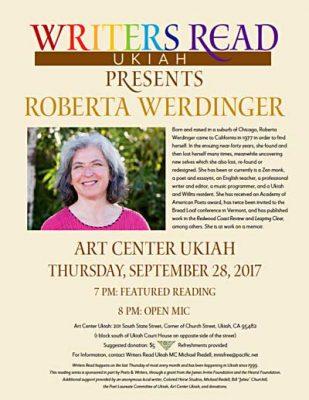 Writers Read presents Roberta Werdinger