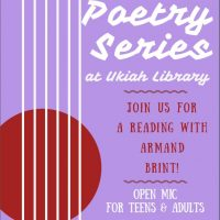 LOBA: a Poetry Reading Series featuring Armand Brint