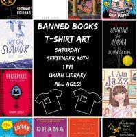 Banned Books Week Shirt Art
