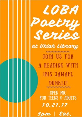 Poetry Reading featuring Iris Jamahl Dunkle