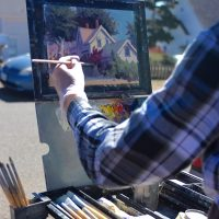 Quick Draw Competition, Voting & Sale: Mendocino Open Paint Out