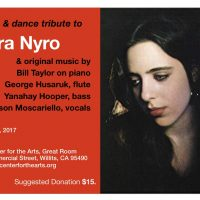 A Music & Dance Tribute to Laura Nyro...