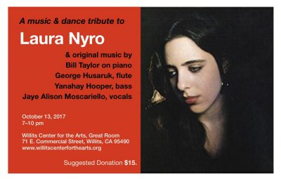 A Music & Dance Tribute to Laura Nyro