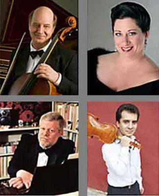 Paula Wilder-Gaubert and the Peregrine Trio