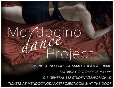 Fire Relief Fundraiser Mendocino Dance Project Uki...