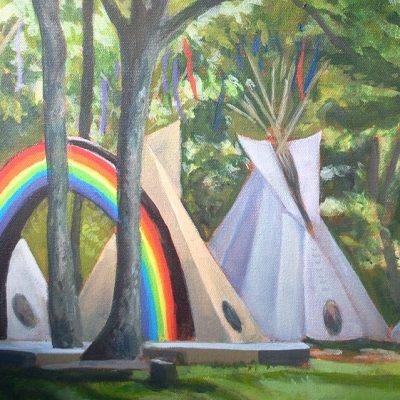 """Laura Corben Exhibit: """"Painted Memories"""""""