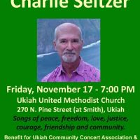 Ukiah Unplugged Sing Along with Charlie Seltzer