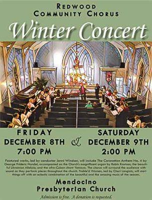 Redwood Community Chorus Winter Concert
