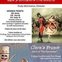 "Mendocino Ballet presents ""Les Patineurs"" and ""Clara's Dream"""
