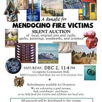 Silent Auction Benefiting Mendocino Fire Victims
