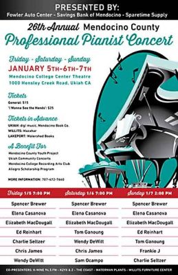 26th Annual Professional Pianist Concert