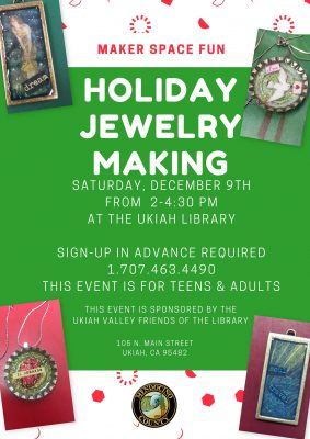Holiday Jewelry Maker Space