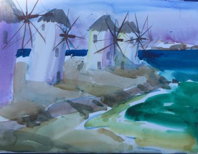 John Hewitt: Art Tours in Europe Exhibition