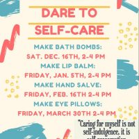 Dare to Self-Care: a STEAM Maker Space Series for Teens