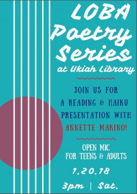 Poetry Reading Series featuring Annette Makino