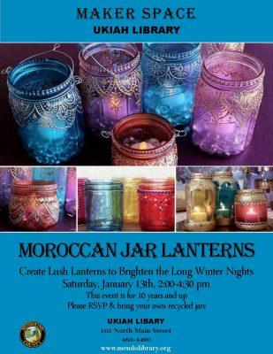 Make Moroccan Jar Lanterns