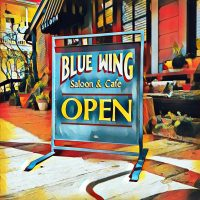 Don Coffin at Blue Wing Sunday Brunch