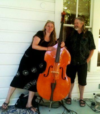 Dorian & Dorothea May at Blue Wing Sunday Brun...