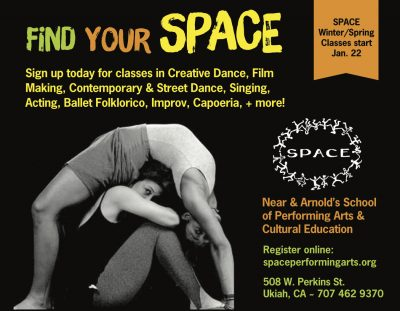 Register Now for SPACE's Winter/Spring Classes