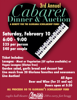 Cabaret Dinner & Auction