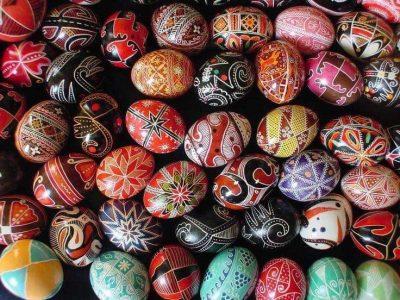 Ukrainian Egg Painting