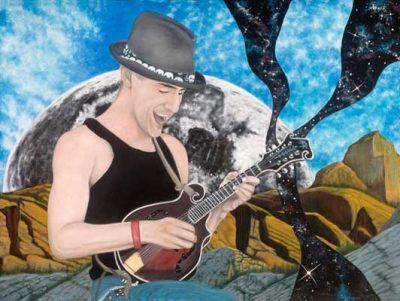 Richard Standard Guest Artist at Edgewater Gallery