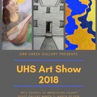 UHS Art Show 2018