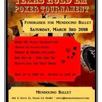 Poker Tournament Ballet Benefit