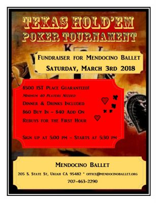 Poker Tournament Ballet Benefit
