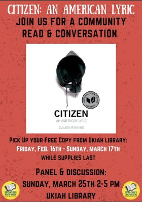 "Book-to-Action: Community Reading & Conversation of ""Citizen"""