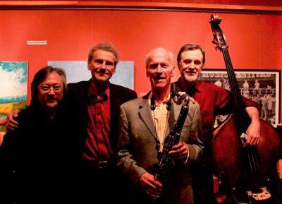 McCandless / Foley-Beining Quartet in Tallman Garden Concert