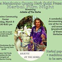 """Herbal Film Night """"Juliette of The Herbs"""""""