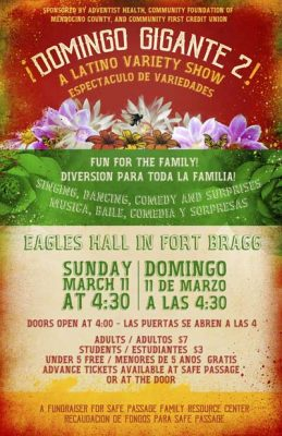 The 2nd Annual Latino Variety Show - ¡Domingo Gigante 2!