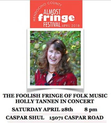 """""""The Foolish Fringe of Folk Music"""" HOLLY TANNEN IN CONCERT"""