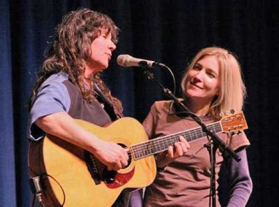 Nina Gerber and Chris Webster