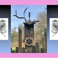 Birdhouse Art – Silent Auction