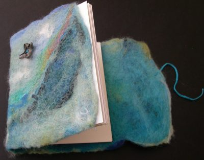 Felted Covered Bookbinding with Ursula Partch