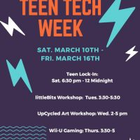 UpCycled Art Workshop for Teens