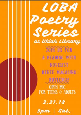 LOBA Reading Series: Renee Macalino Rutledge