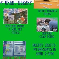 Poetry Month Crafts for Teens
