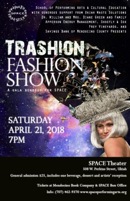 SPACE presents Trashion Fashion Show