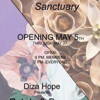 """Petals & Bones"" by Diza Hope / ""Sanctuary"" by Katharine Payne"