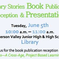 History Stories Book Publication Reception & Presentation
