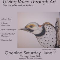 """Gallery Opening: """"Giving Voice Through Art"""""""