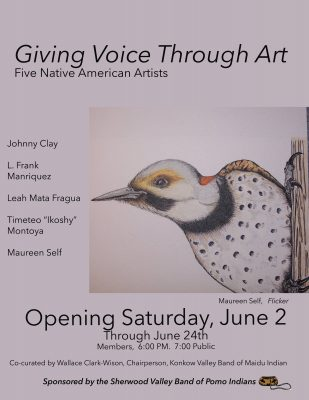 "Gallery Opening: ""Giving Voice Through Art"""