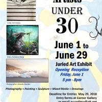 Artists Under 30 Juried Art Show